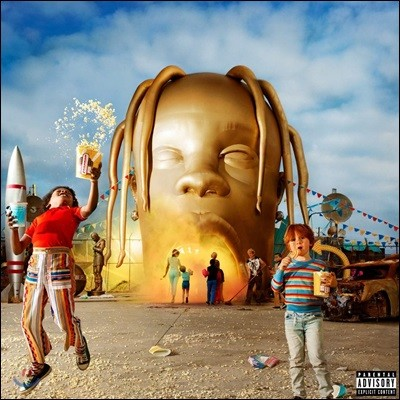 Travis Scott (트래비스 스콧) - 3집 Astroworld [2LP]