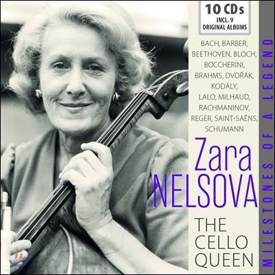 Zara Nelsova '첼로의 여왕' 자라 넬소바 명연집 (The Cello Queen) [10CD Boxset]