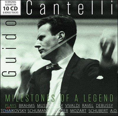 Guido Cantelli 귀도 칸텔리 명연집 (Guido Cantelli - Milestones Of Legends) [10CD Boxset]