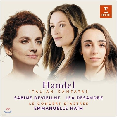 Sabine Devieilhe 헨델: 이탈리아 칸타타 (Handel: Italian cantatas)