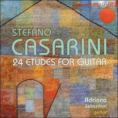 Adriano Sebastiani 스테파노 카사리니: 24개의 기타 연습곡 (S. Casarini: 24 Etudes for Guitar)