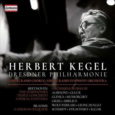 헤르베르트 케겔 - 카프리치오 에디션 (Herbert Kegel - Capriccio Edition) (8CD Boxset) - Herbert Kegel