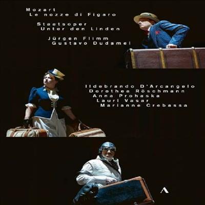 모차르트: 오페라 '피가로의 결혼' (Mozart: Opera 'Le nozze di Figaro', K492) (한글자막)(2DVD) (2018) - Jurgen Flimm