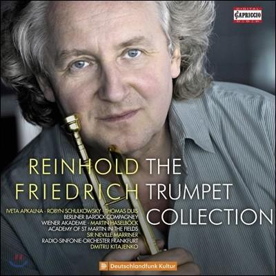 Reinhold Friedrich 라인홀트 프리드리히 트럼펫 작품 모음집 (The Trumpet Collection)