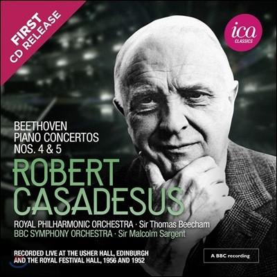 Robert Casadesus 베토벤: 피아노 협주곡 4번, 5번 '황제' (Beethoven: Piano Concertos Nos. 4 & 5)