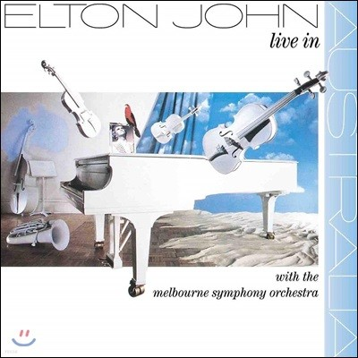 Elton John (엘튼 존) - Live In Australia With The Melbourne Symphony Orchestra [2LP]