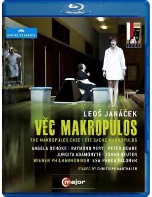 Esa-Pekka Salonen 야나체크: 마크로풀로스 재판 (Jana?ek: The Makropulos Case) [블루레이]