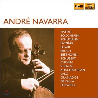 앙드레 나바라 첼로 연주집 (Andre Navarra Great Recordings) [10CD Boxset]
