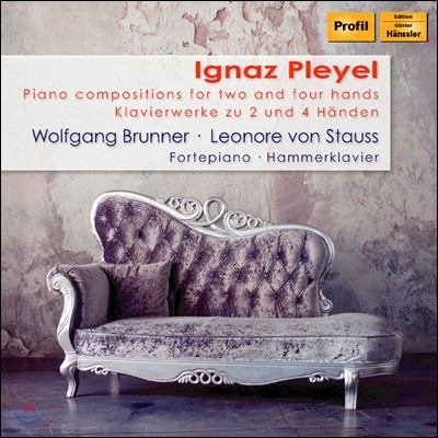 Wolfgang Brunner / Leonore von Stauss 플레옐: 피아노 독주와 듀엣 작품집 (Pleyel: Piano Compositions for 2 and 4 Hands)