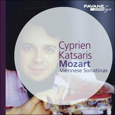 Cyprien Katsaris 모차르트: 6곡의 빈 소나티네 (Mozart: Six Viennese Sonatinas KV439b)