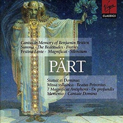 패르트 : 합창곡, 관현악곡집 (Part : Choral Music, Orchestral Music) (2CD) - Tonu Kaljuste