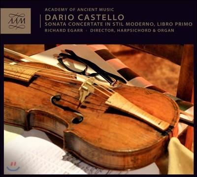 Richard Egarr 다리오 카스텔로: 새 양식에 의한 소나타 콘체르탄테 작품 1권 (Dario Castello: Sonate Concertate In Stil Moderno, Libro Primo)
