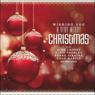 크리스마스 음악 모음집 (Wishing You A Very Merry Christmas) [골드 컬러 LP]