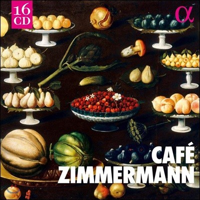 Cafe Zimmermann 카페 침머만 - 알파 녹음 전집 박스 (Cafe Zimmermann)