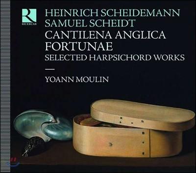 Yoann Moulin 샤이데만 / 샤이트: 하프시코드 작품집 (Cantilena Anglica Fortunae)