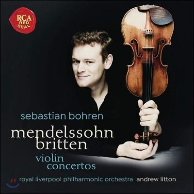 Sebastian Bohren 브리튼 / 멘델스존: 바이올린 협주곡 (Mendelssohn / Britten: Violin Concertos)