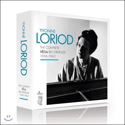 이본 로리오 베가 레이블 녹음 전집 (Yvonne Loriod - The Complete Vega Recordings 1956-1963) [13CD Boxset]