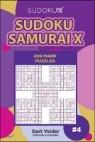 Sudoku Samurai X 200 Hard Puzzles