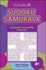 Sudoku Samurai X 200 Hard to Master Puzzles