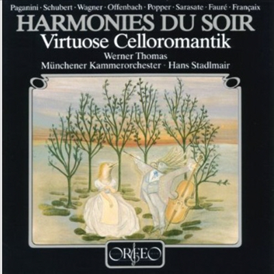 저녁의 선율 - 첼로 소품집 '자클린의 눈물 수록' (Virtuose Cellomusik - Hormonies Du Soir)(CD) - Werner Thomas-Mifune