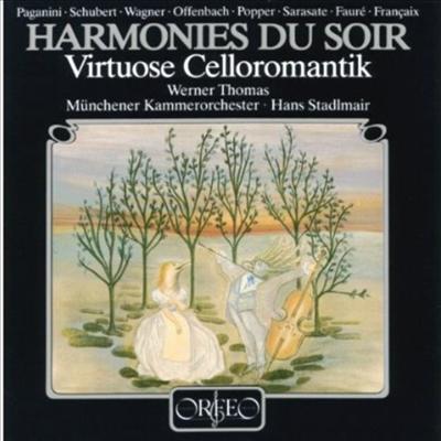 저녁의 선율 - 첼로 소품집 '자클린의 눈물 수록' (Virtuose Cellomusik - Hormonies Du Soir) - Werner Thomas-Mifune