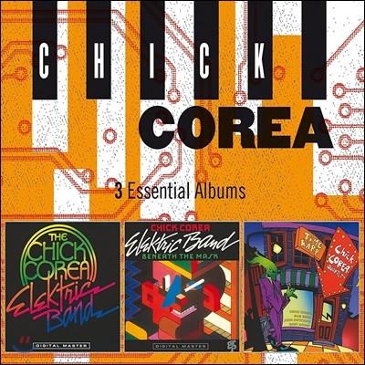 Chick Corea (칙 코리아) - 3 Essential Albums [3CD]
