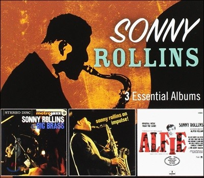 Sonny Rollins (소니 롤린스) - 3 Essential Albums [3CD]