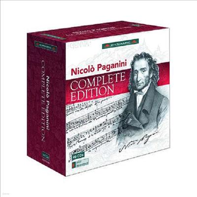 파가니니 전작 녹음 (Nicolo Paganini - Complete Edition) (40CD Boxset) - Salvatore Accardo