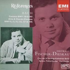 Bach Cantatas BWV 158 &ampamp 203 Arias &ampamp Chorals - Dietrich Fischer-Dieskau