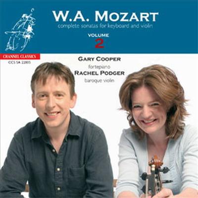 모차르트: 바이올린 소나타 2집 (Mozart: Violin Sonatas, Vol.2 - K.303, K.7, K.301, K.30, K.481) (SACD Hybrid) - Rachel Podger