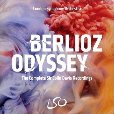 Colin Davis 콜린 데이비스 베를리오즈 작품집 (Berlioz Odyssey) [16CD 박스세트]