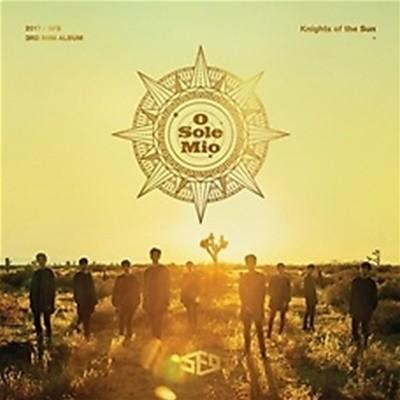 2017 SF9 에스에프나인 미니 3집 Knights of the Sun : 화보집/양장/케이스 +  CD 1 **