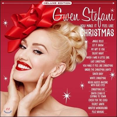Gwen Stefani (그웬 스테파니) - You Make It Feel Like Christmas [화이트 컬러 2LP]