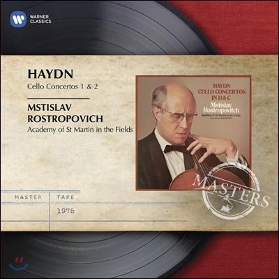 Mstislav Rostropovich 하이든 : 첼로 협주곡 1, 2번 - 로스트로포비치 (Haydn: Cello Concertos)