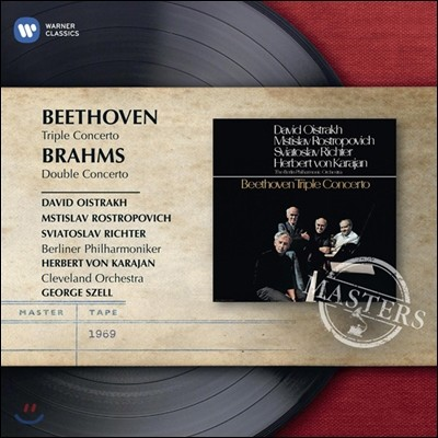 Mstislav Rostropovich / Sviatoslav Richter / David Oistrakh 베토벤: 삼중 협주곡, 브람스: 이중 협주곡 (Beethoven: Triple Concerto / Brahms: Double Concerto)