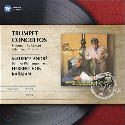 Maurice Andre 트럼펫 협주곡집 - 훔멜 / L. 모차르트 / 텔레만 / 비발디 (Hummel / L. Mozart / Telemann / Vivaldi: Trumpet Concertos) 모리스 앙드레