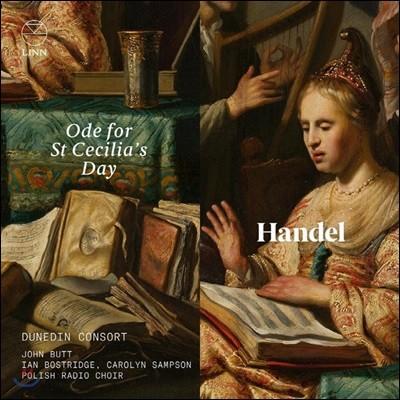 Carolyn Sampson 헨델: 성 세실리아 축일을 위한 오드, 콘체르토 그로소 Op.6-4 (Handel: Ode for St Cecilia's Day)