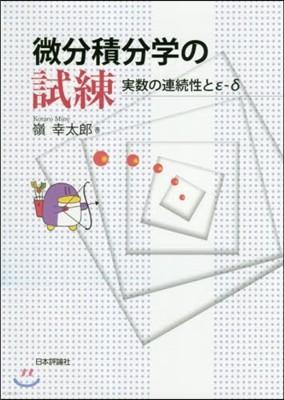 微分積分學の試練 實數の連續性とε-δ