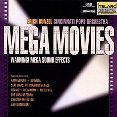 메가 무비스 - 와닝 메가 사운드 이펙트 (Mega Movies) - Erich Kunzel