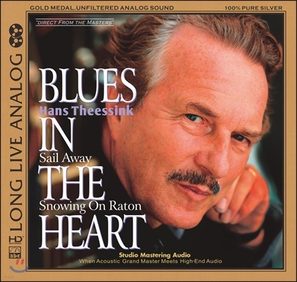 Hans Theessink (한스 데싱크) - Blues In The Heart (Silver Alloy Limited Edition)