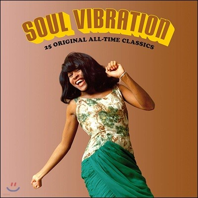 Soul Vibration - 25 Original All Time Classics [LP]