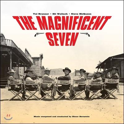 매그니피센트 7 영화음악 (The Magnificent Seven OST by Elmer Bernstein) [옐로우 컬러 LP]