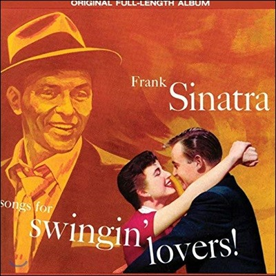 Frank Sinatra (프랭크 시나트라) - Songs For Swingin' Lovers! [오렌지 컬러 LP]
