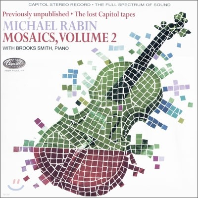 Michael Rabin 마이클 라빈 - 모자이크 2 : 캐피탈 녹음집 [LP]