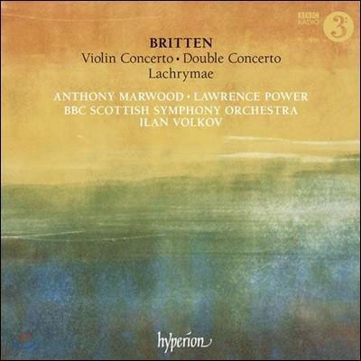 Anthony Marwood 브리튼: 바이올린 협주곡 외 (Britten: Violin Concerto, Double Concerto)