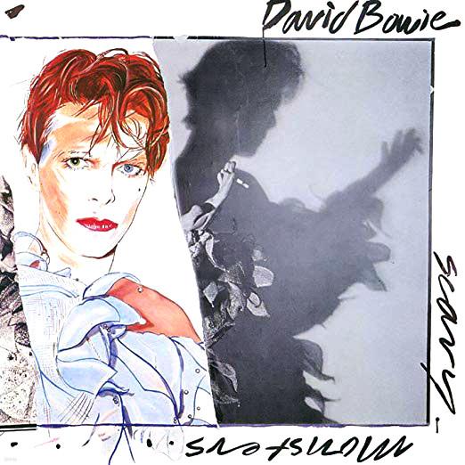 [중고 LP] David Bowie - Scary Monsters (Japan 초반)