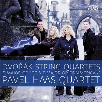 드보르작: 현악 사중주 12 '아메리카' & 13번 (Dvorak: String Quartets Nos.12 'American' & 13) (180g)(2LP) - Pavel Haas Quartet