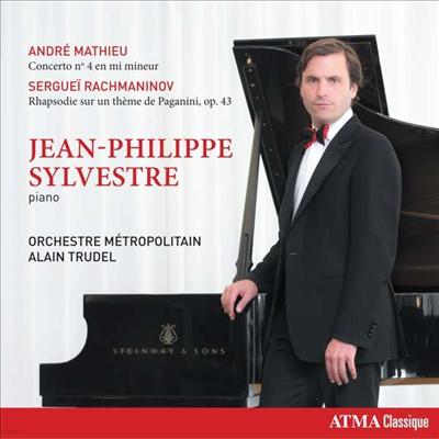 마티유: 피아노 협주곡 4번 & 라흐마니노프: 파가니니 주제에 의한 광시곡 (Mathieu: Piano Concerto No.4 & Rachmaninov: Rhapsody on A Theme of Paganini, Op. 43) - Jean-Philippe Sylvestre
