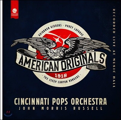 Cincinnati Pops Orchestra 1918년 미국의 인상을 음악으로 표현한 작품들 (American Originals - 1918)