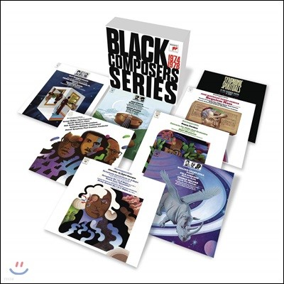 Paul Freeman 흑인 작곡가 시리즈 전집 (Black Composer Series 1974-1978)